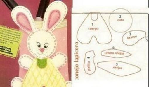 conejo-goma-eva