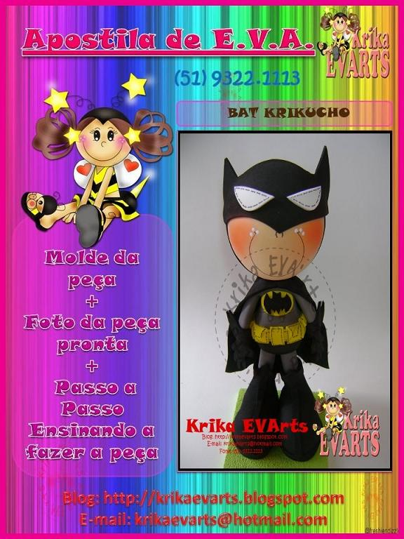 Batman Moldes: Fofucho Batman