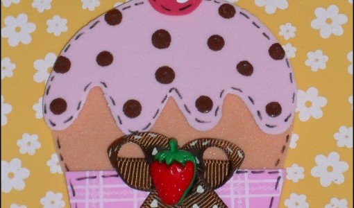 cupcake de goma eva