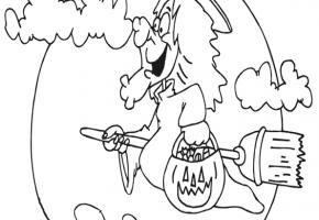 Dibujos de brujas para halloween