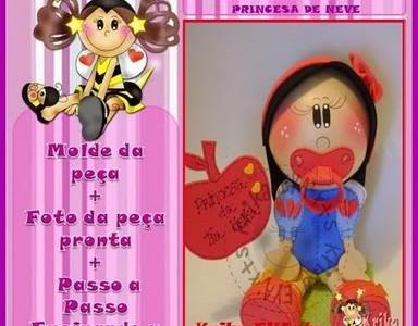 Fofucha baby toy Blancanieves