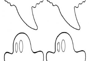 moldes de fantasmas