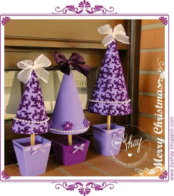 Arbol de navidad paso a paso manualidades en goma eva y - Manualidades navidenas paso a paso ...