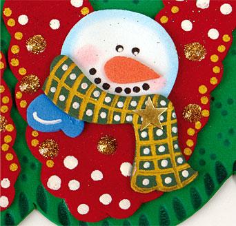 aviso feliz navidad 02 Cartel de Feliz Navidad en Goma Eva