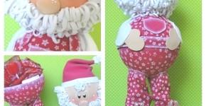 Fofucho Papa Noel porta bombones