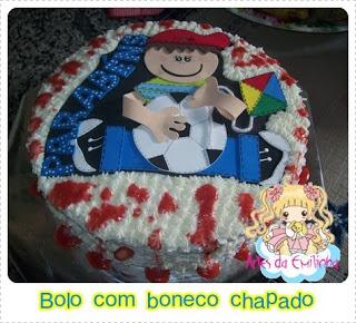 Adorno torta de niño