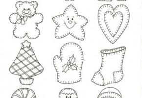 Moldes y dibujos de navidad para manualidades ii for Hacer figuras navidenas manualidades