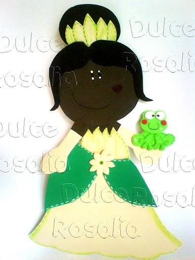 FOFUCHA PRINCESA Y SAPO Fofucha Princesa Tiana