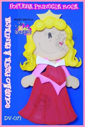 fofucha princesa aurora Fofucha Princesa Aurora