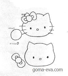 Picaporte Hello Kitty