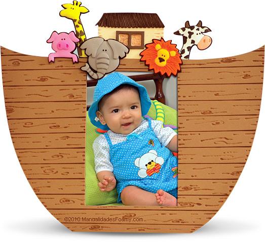 Como Hacer El Arca De Noe En Fomi