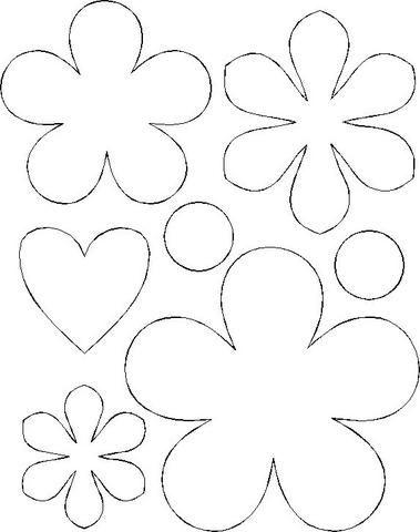 en goma eva moldes flores goma eva molde de flores de foami moldes de