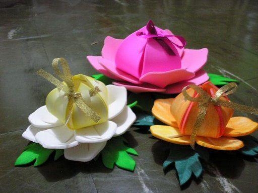 Flores de foami para el dia de la madre - Imagui