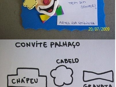 Invitacion Payasito