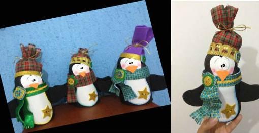 Pinguino de Navidad