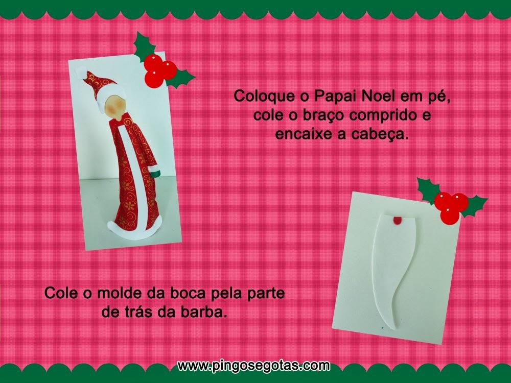 Papa noel de mesa 006 todo en goma eva for Puertas decoradas de navidad trackid sp 006