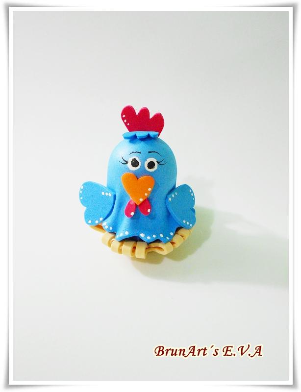 souvenir galinha pintadinha   manualidades en goma eva y foami
