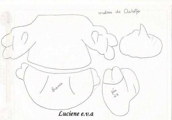 Astolfo moldes 2