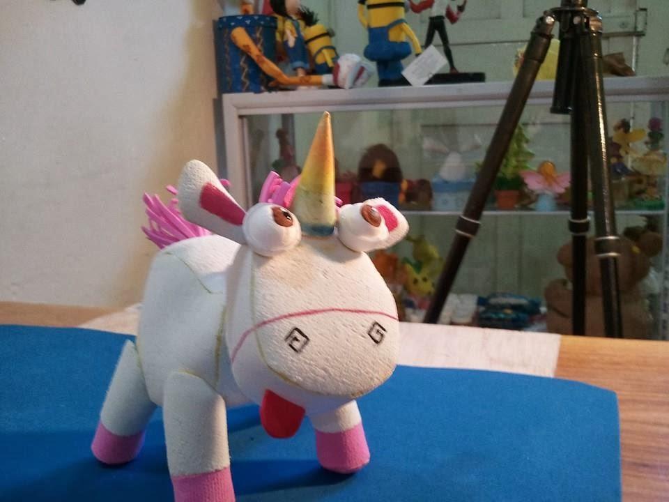 Como hacer el unicornio de agnes mi villano favorito - Hacer nombres con goma eva ...