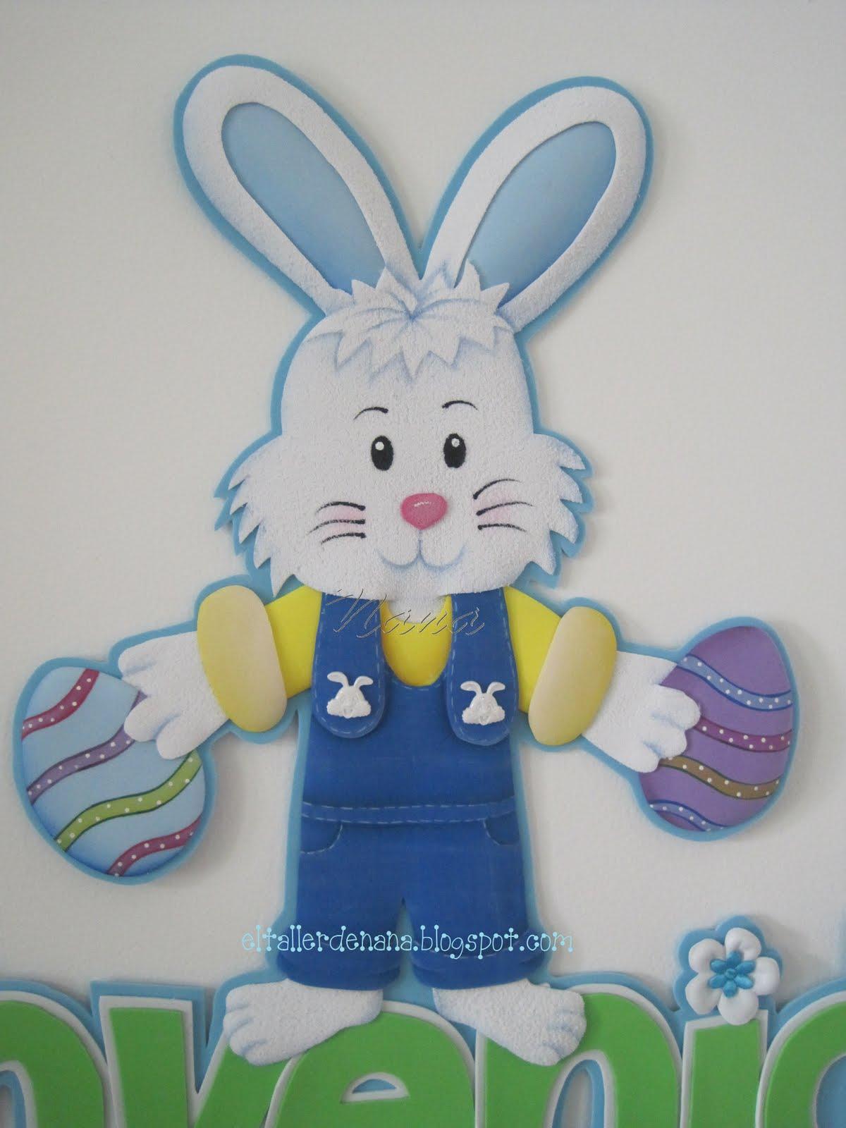 Patrones de conejos de pascua imagui for Manualidades pascua