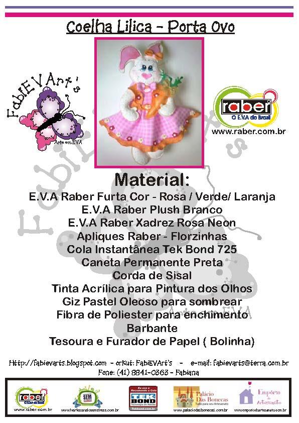 Coneja-Lilica-materiales