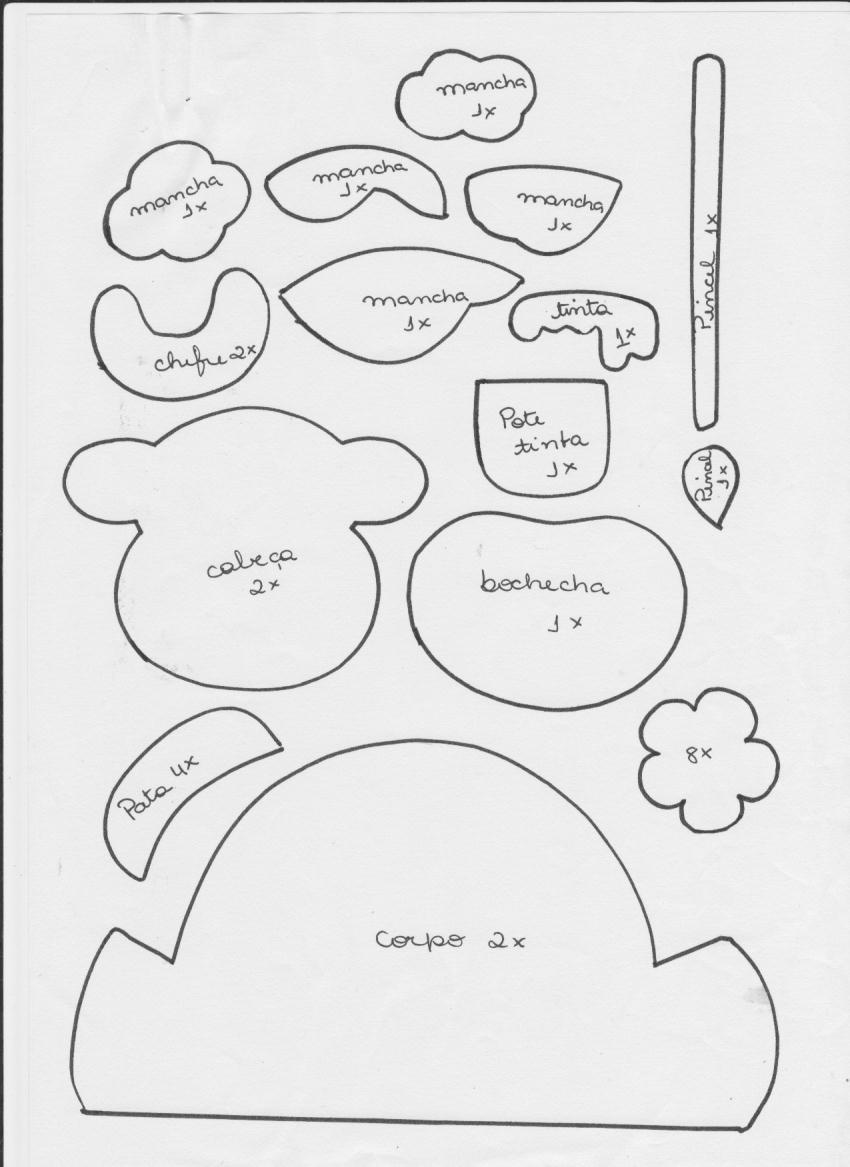 Adorno country: guirnalda vaquita - Manualidades en Goma Eva y Foami