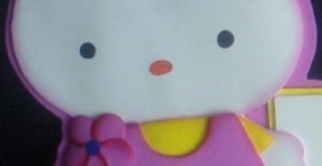 Aplique Hello Kitty 1
