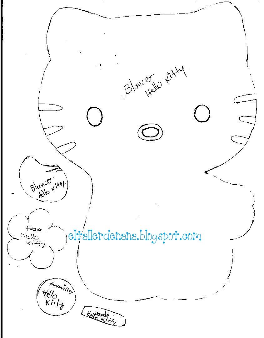 Aplique Hello Kitty 2