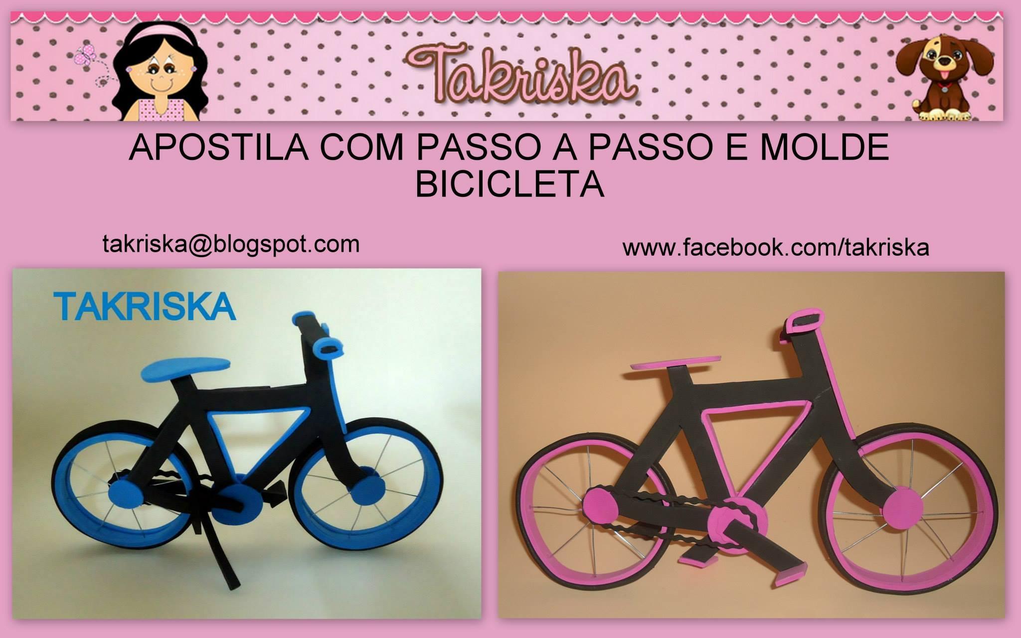 Como hacer una bicicleta en goma eva Manualidades en Goma Eva y Foami