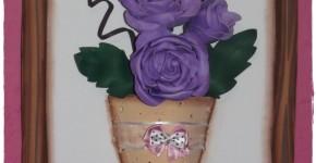 cuadro de rosas - 2