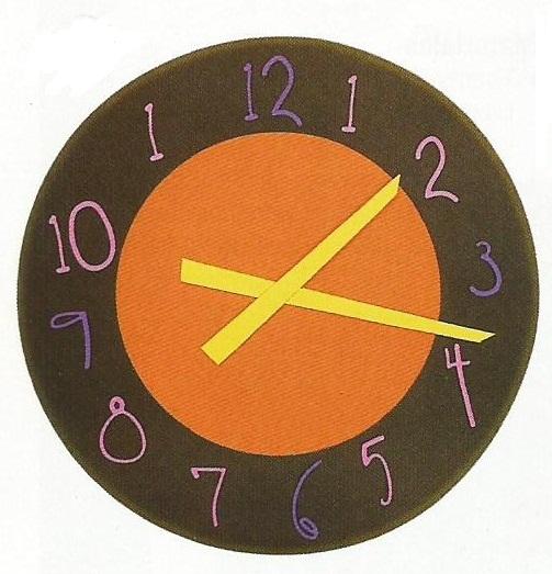 Reloj de goma eva para ni os imagui - Manualidades relojes infantiles ...