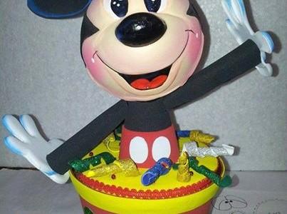 Manualidades De Mickey Mouse En Goma Eva Todo En Goma Eva