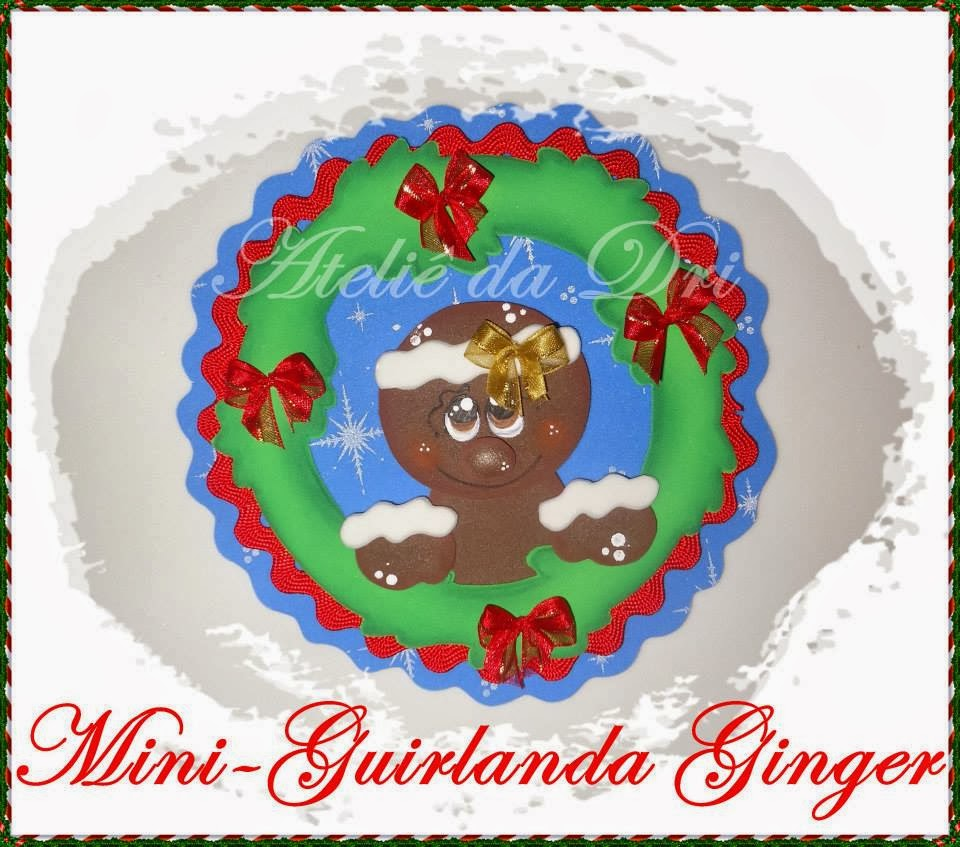 Mini coronas de navidad en goma eva manualidades en goma - Trabajos en goma eva navidad ...