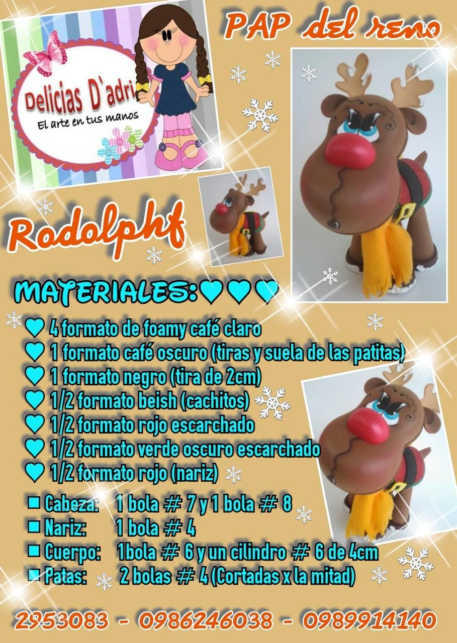 Pap de reno Rodolph 03