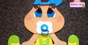 aplique bebe nene goma eva