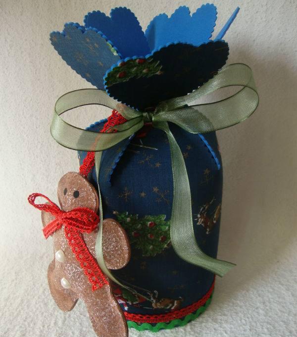 caja de navidad artesanal
