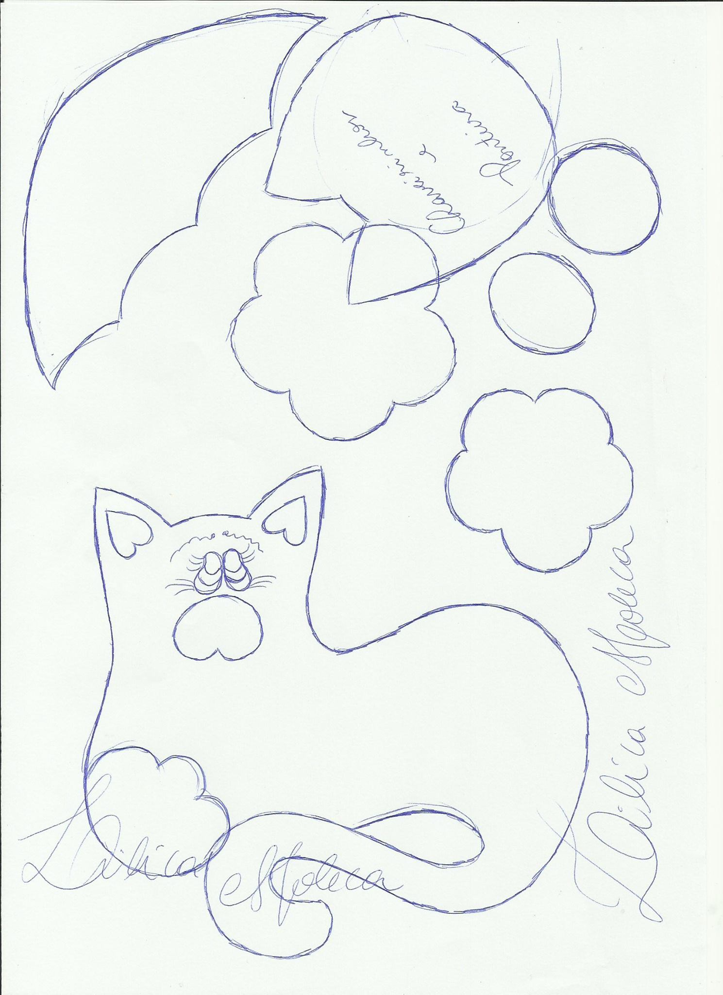 cuaderno agenda decorada gatito 2