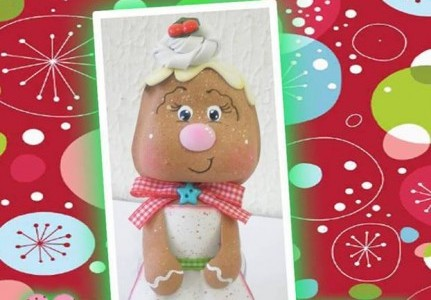 Frascos decorados todo en goma eva for Frascos decorados para navidad