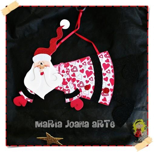 Adorno Papa Noel Navidad