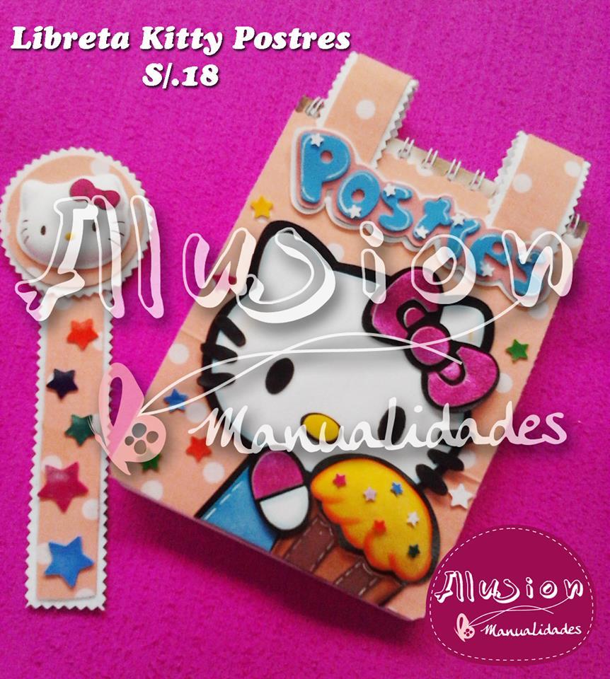 Libreta Hello Kitty 1
