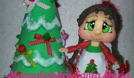 Manualidades de navidad todo en goma eva - Manualidades con goma eva de navidad ...