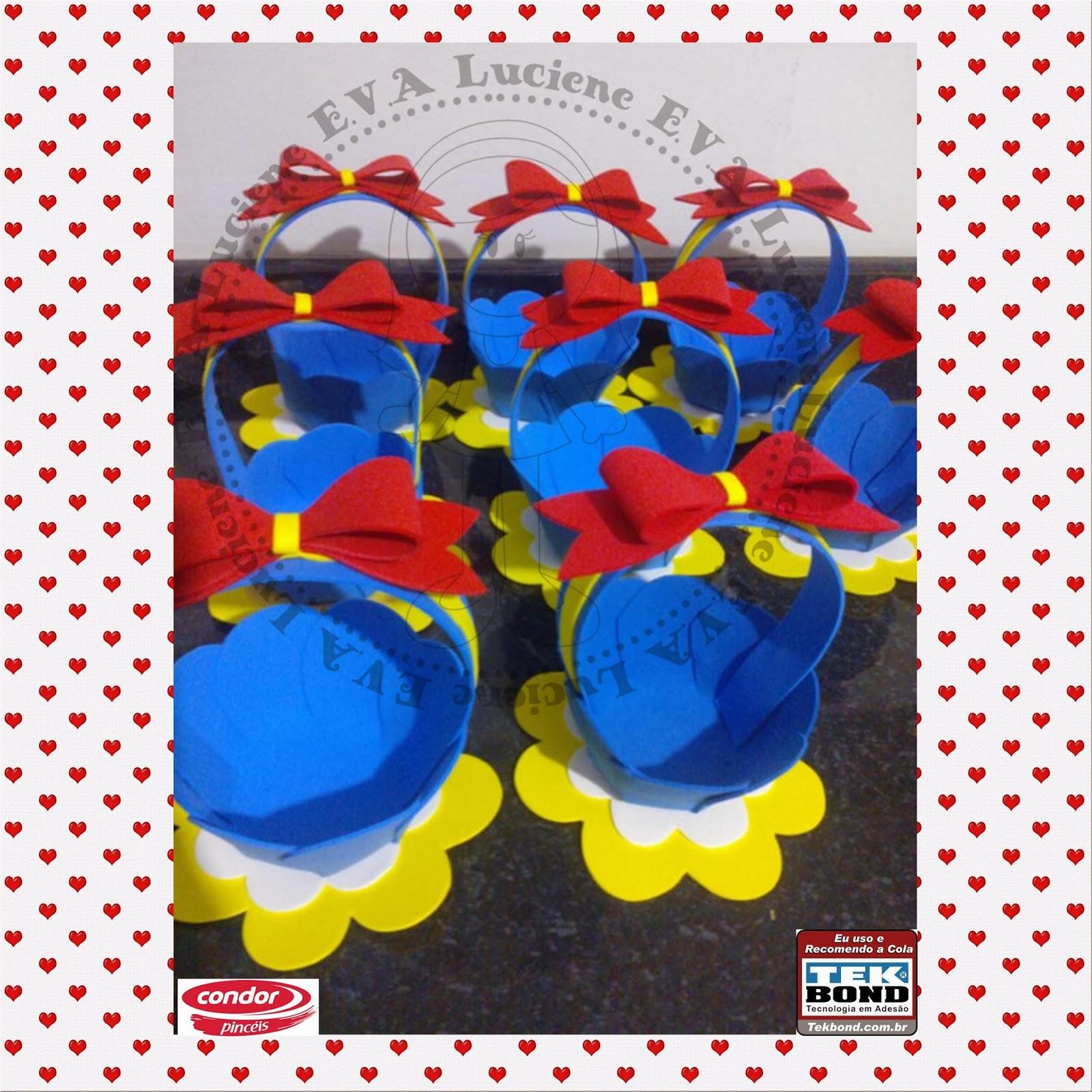 Souvenirs de Blancanieves Todo en Goma Eva