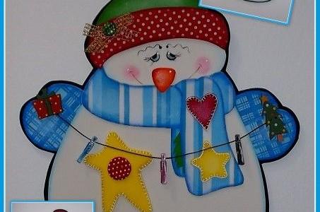 muñeco de nieve - Todo en Goma Eva