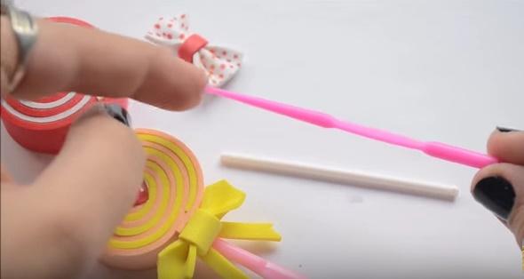 Preciosas paletas de goma eva 5