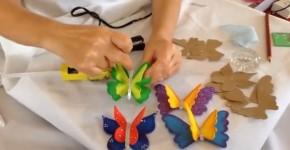 Mariposas 3D en goma eva 1