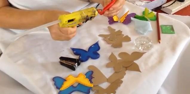 Mariposas 3D en goma eva 3