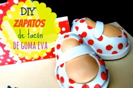 Zapatos de goma eva 1
