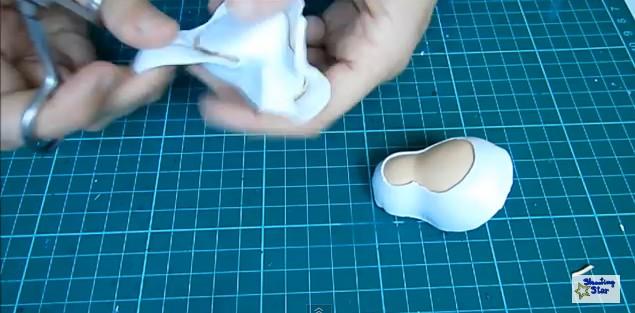 Zapatos de goma eva 6