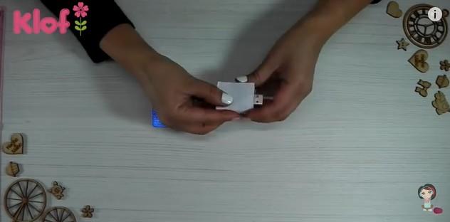 Libro de goma eva para decorar memoria USB 8