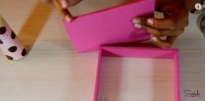 Caja de regalo de goma eva 4